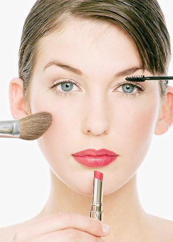 Последовательность нанесения макияжа на лицо фото