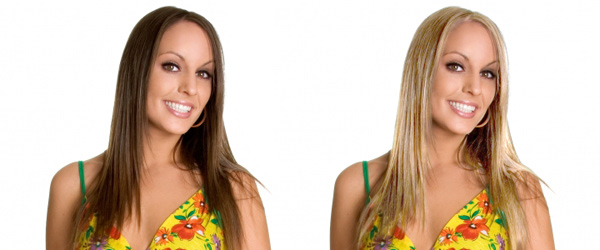 Как из брюнетки стать блондинкой фото
