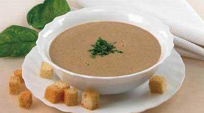 Суп-пюре из печенки фото