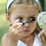 Детский макияж для девочек с видео: как стать принцессой