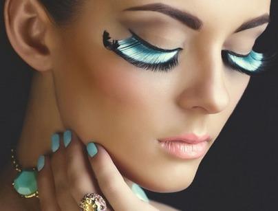 Фантазийный макияж техника