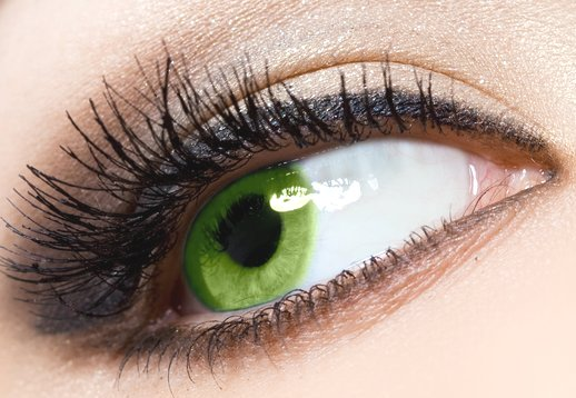 Макияж для зеленых глаз фото 1