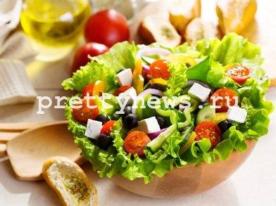 Греческий салат домашний рецепт с фото
