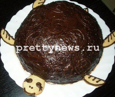 Торт черепаха рецепт пошагово видео