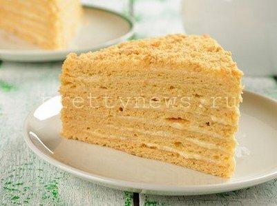 Торт Наполеон - классический рецепт фото