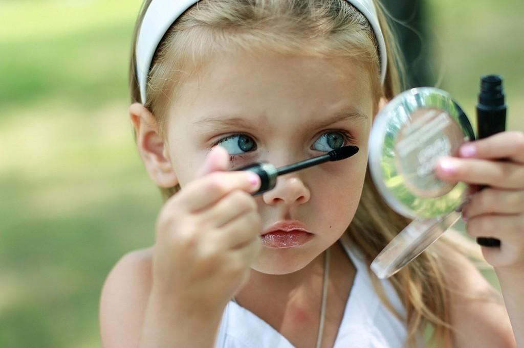 Детский макияж фото. Макияж это