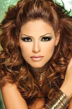Глаз макияж форма. фото