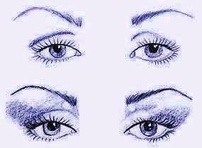 Глаза макияж. Форма глаз и макияж для них. Макияж по форме глаз