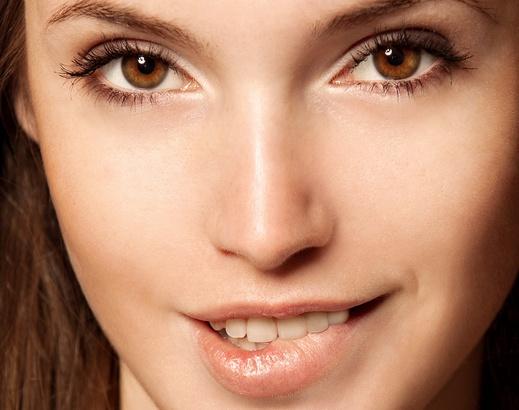 Как сделать нос меньше фото